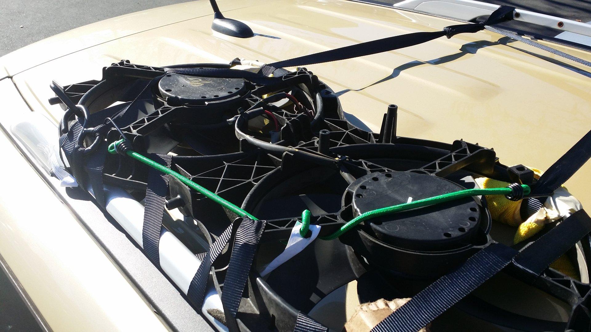 2013 Pathfinder Radiator Fan broken @ 50000miles | Nissan Pathfinder